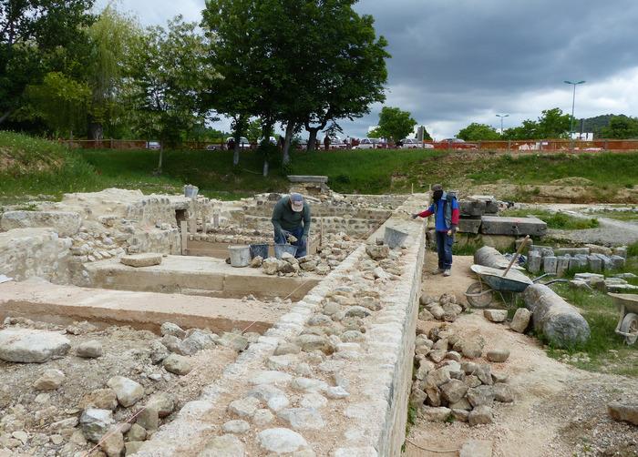 Journées du patrimoine 2018 - Visite guidée du chantier de restauration du groupe cathédral antique de Riez (Commune, CNRS - Centre Camille Jullian)