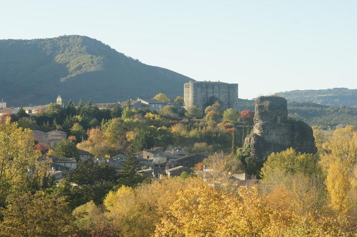 Journées du patrimoine 2018 - Visite commentée du château d'Alba-la-Romaine.