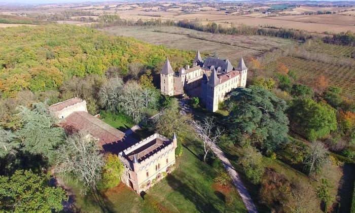 Journées du patrimoine 2018 - Visite guidée du château de Caumont et son parc