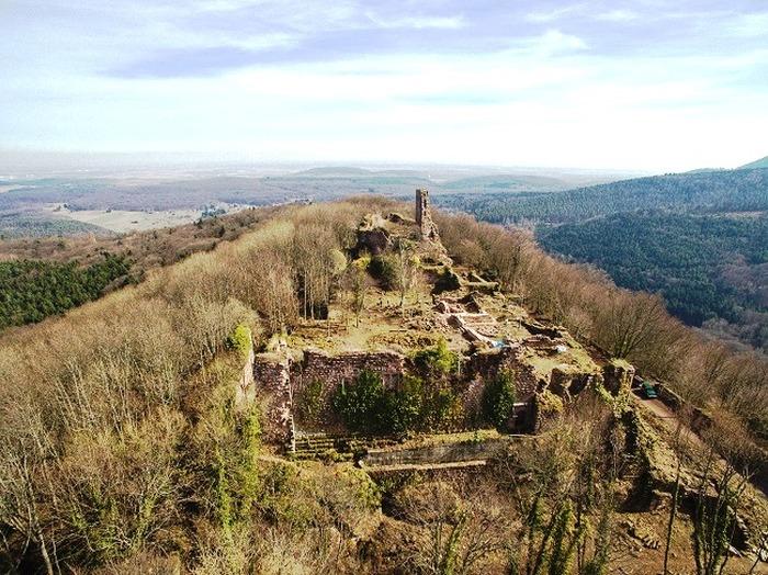 Journées du patrimoine 2018 - Visites guidées du château de Guirbaden