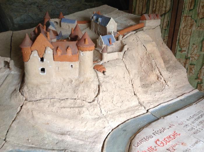 Journées du patrimoine 2018 - visite guidée du chateau de la Haute Guerche