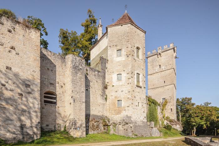 Journées du patrimoine 2018 - Visite guidée du Château de Montbard avec Emmanuel Laborier, archéologue de l'INRAP Bourgogne-France-Comté