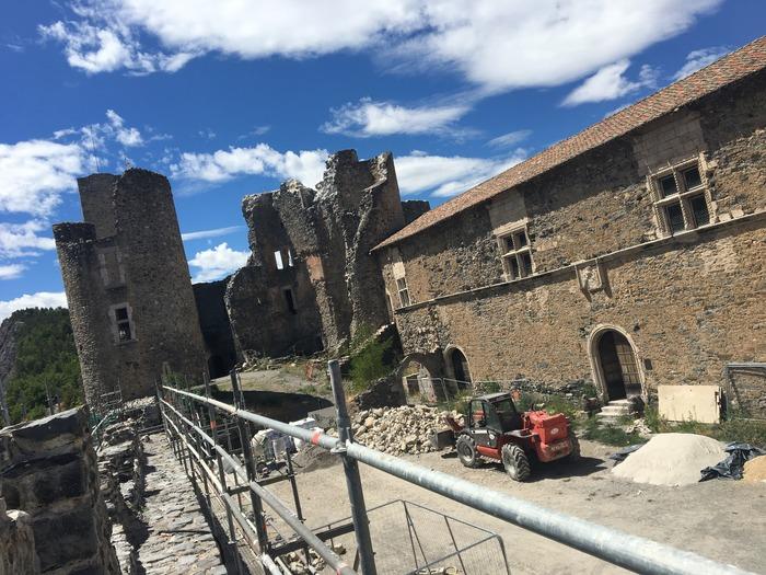 Journées du patrimoine 2018 - Visite guidée du château de Tallard et de ses travaux de restauration