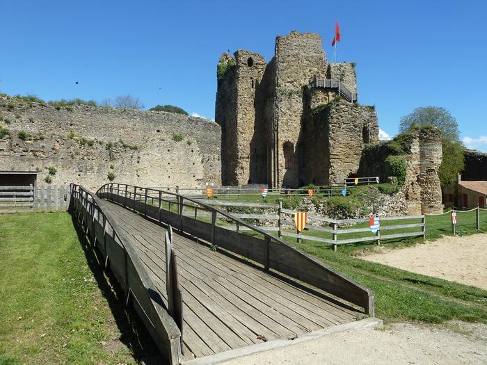 Crédits image : château de Talmont