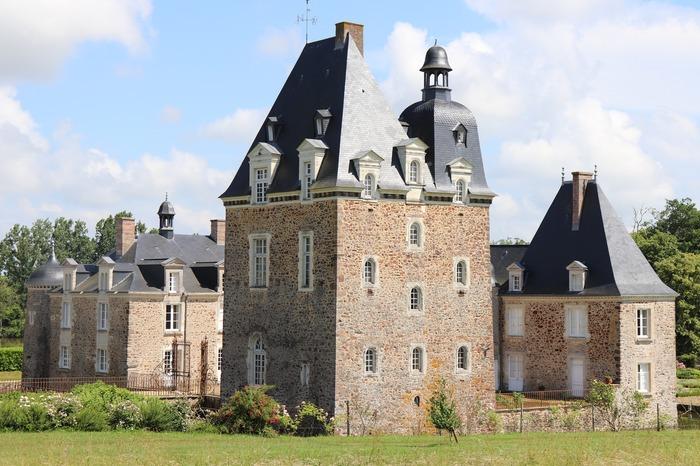 Journées du patrimoine 2018 - visite guidée du château des Arcis (extérieurs) et des dépendances