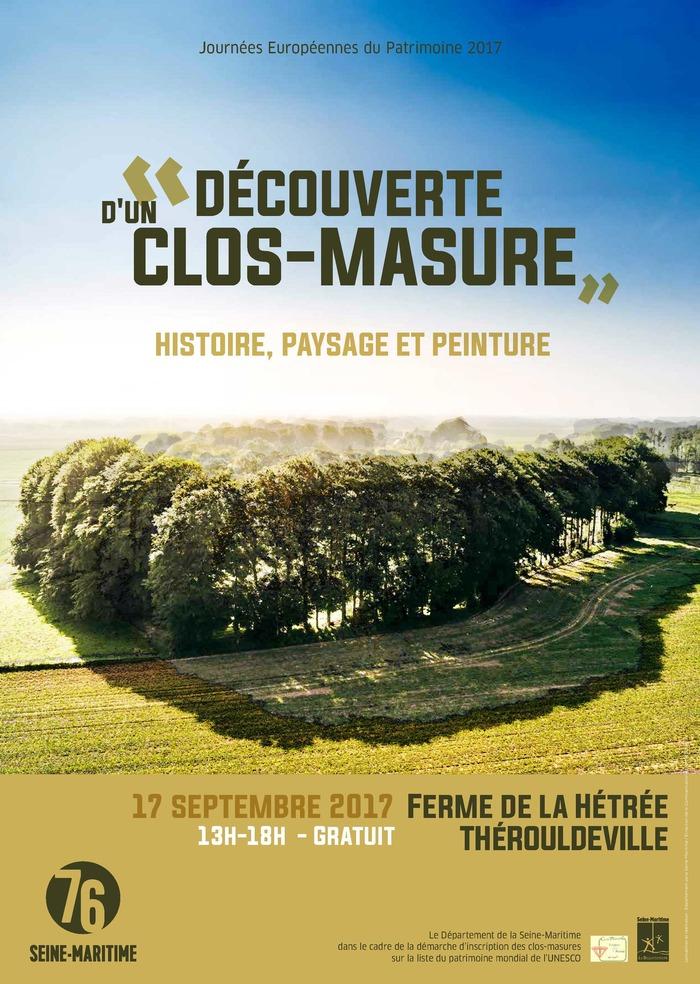 Journées du patrimoine 2017 - Visite guidée du clos-masure