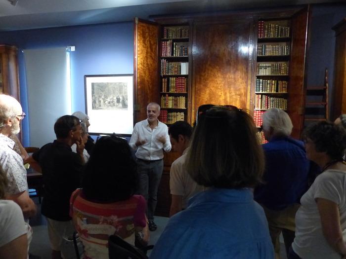 Journées du patrimoine 2018 - Visite guidée du conservateur avec l'artiste Edith Schmid