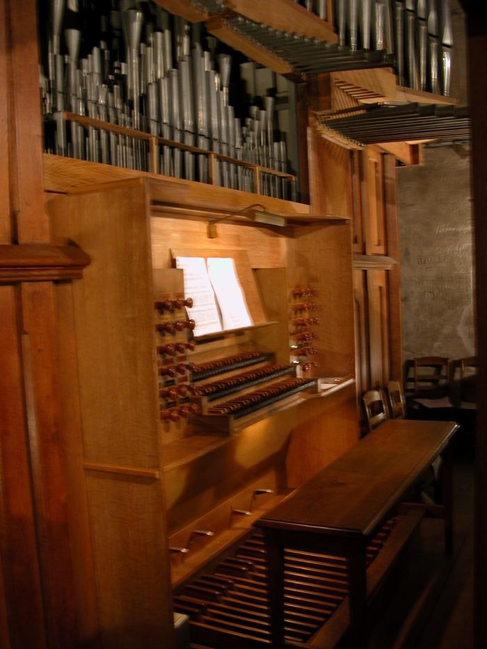Journées du patrimoine 2018 - Visite guidée du grand orgue par l'Association les Amis de l'Orgue