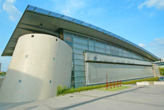 Journées du patrimoine 2018 - Visite guidée du gymnase Nelson Paillou à Créteil