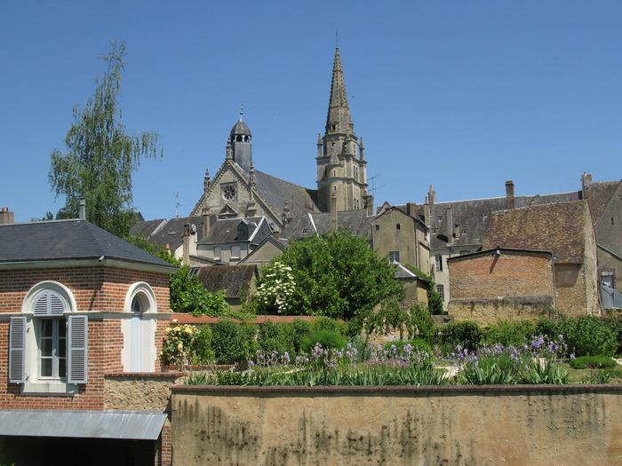 Journées du patrimoine 2018 - Visite guidée du jardin et potager médiévaux, du jardin des couleurs et de la gloriette sur les quais de l'Anille