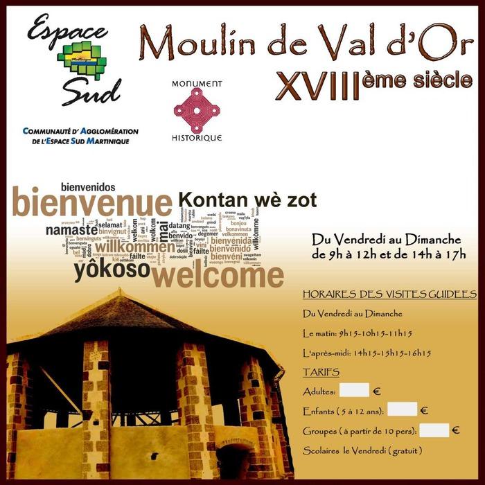 Journées du patrimoine 2018 - Visite guidée du Moulin de Val d'Or