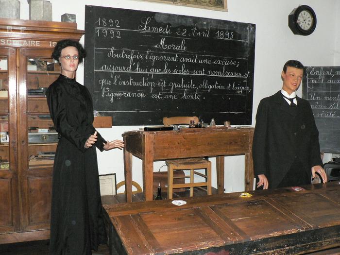 Journées du patrimoine 2018 - Visite guidée du musée de l'école