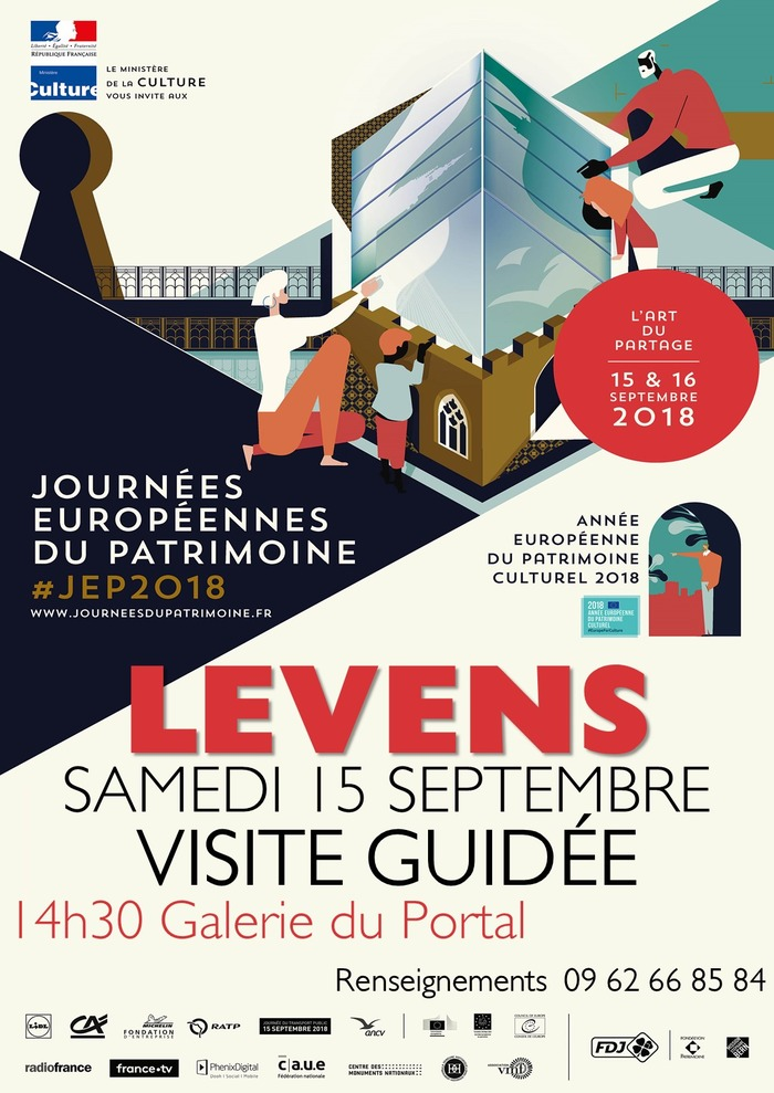 Journées du patrimoine 2018 - Visite guidée du patrimoine Levensois