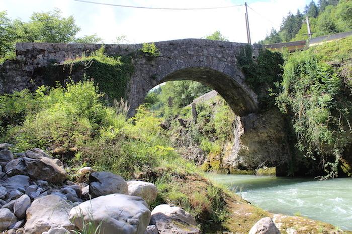 Journées du patrimoine 2018 - Visite commentée du pont d'Évian.