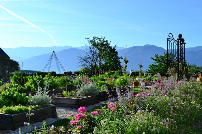 Journées du patrimoine 2018 - Visite commentée du potager en 88 carrés et des jardins sauvages.