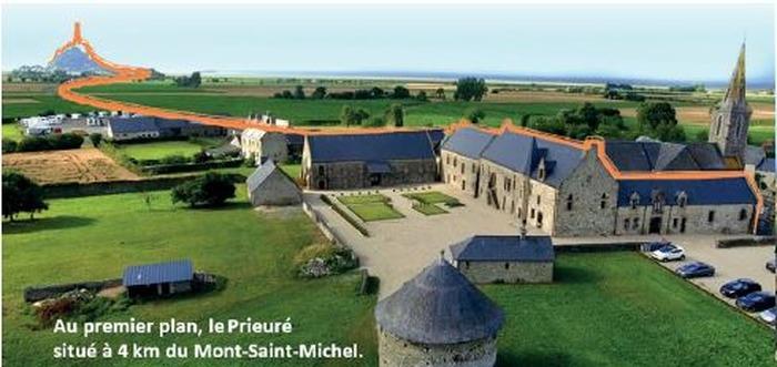 Journées du patrimoine 2018 - Visite guidée du prieuré du Mont-Saint-Michel en Ardevon