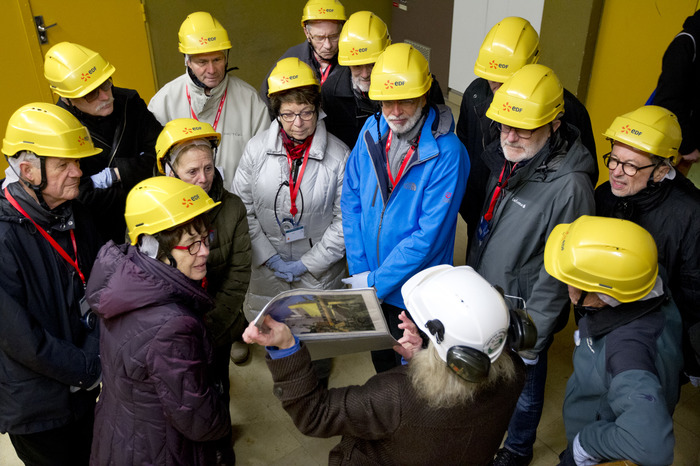 Journées du patrimoine 2018 - Visite guidée du réacteur nucléaire en déconstruction Superphénix.