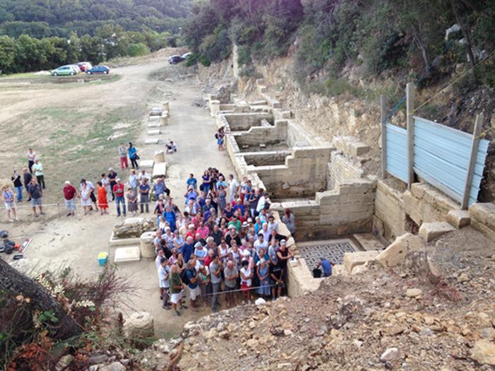 Journées du patrimoine 2018 - Visite guidée du site archéologique du Castellas