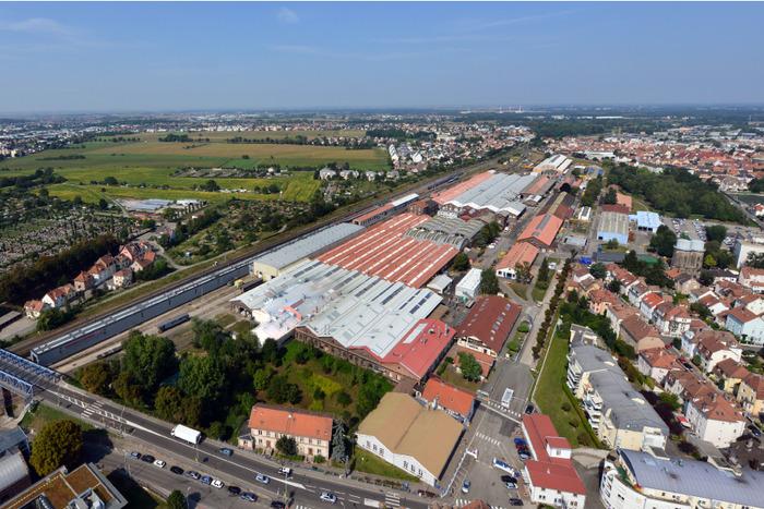 Journées du patrimoine 2018 - Visite guidée du Technicentre SNCF de Bischheim