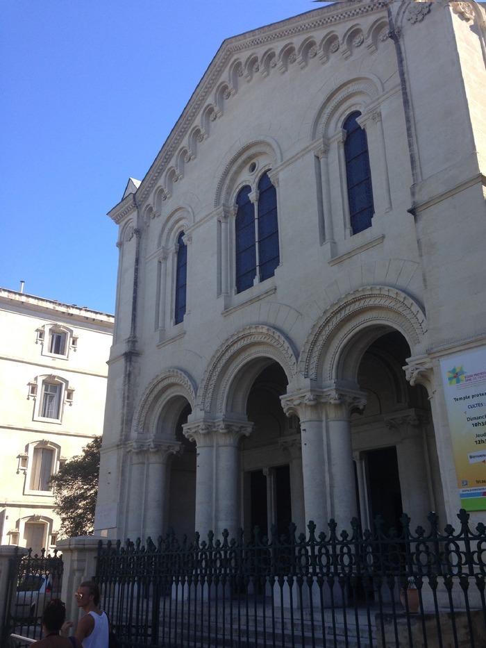 Journées du patrimoine 2018 - Visite guidée du temple de l'église protestante unie de Montpellier