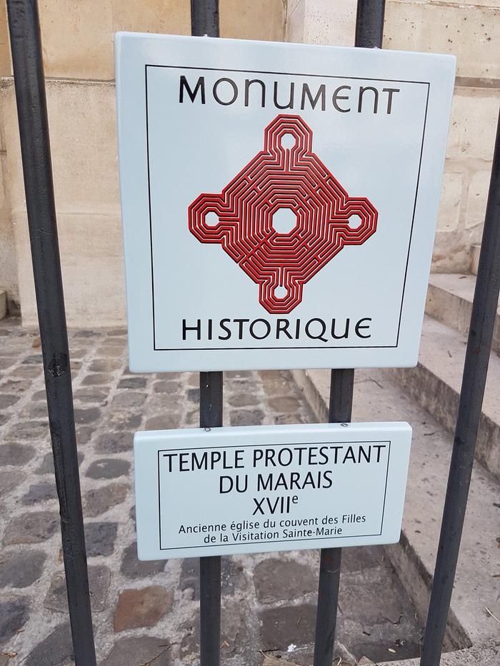 Journées du patrimoine 2019 - Visite guidée du Temple