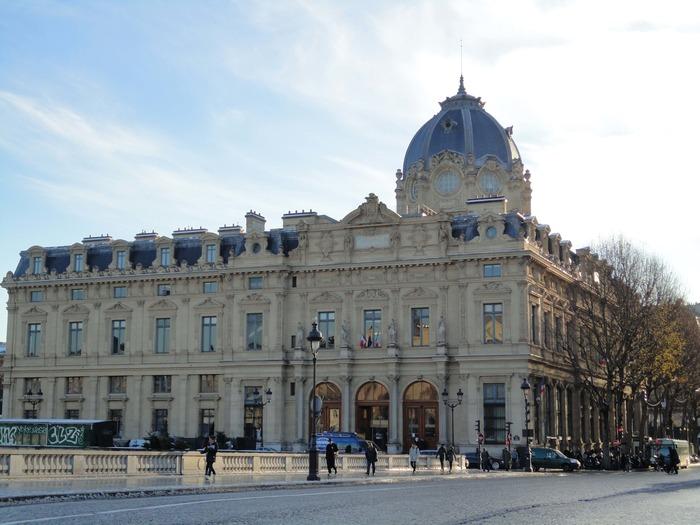 Journées du patrimoine 2018 - Visite guidée du tribunal de commerce de Paris