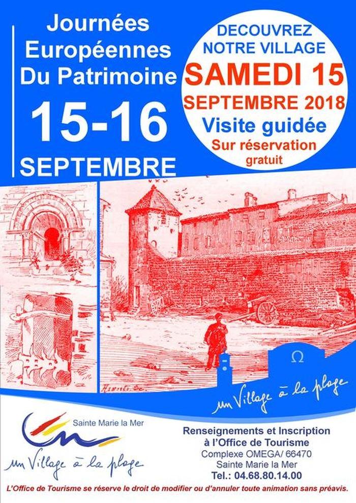 Journées du patrimoine 2018 - Visite guidée du village et de l'église