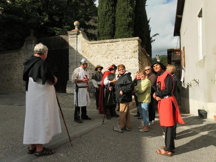 Journées du patrimoine 2018 - Visite guidée du village médiéval d'Aspres