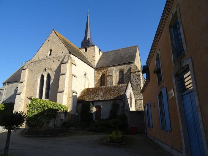 Journées du patrimoine 2018 - visite guidée et commentée de l'église Saint Médard de Saint Mars sous Ballon