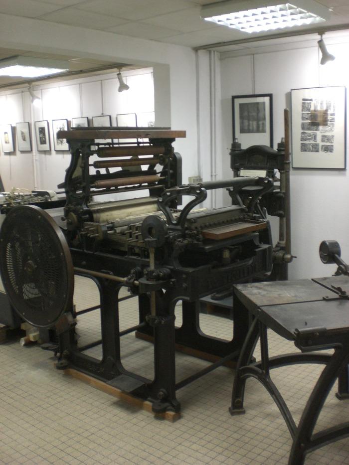 Journées du patrimoine 2018 - Visites guidées et démonstrations - Atelier-musée d'art graphique d'Arcueil