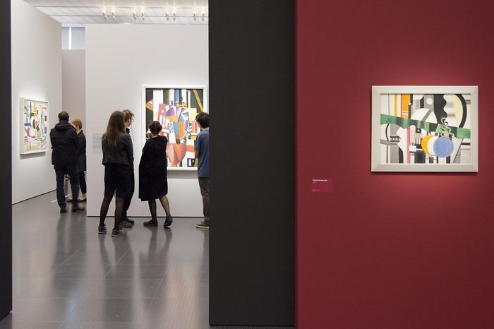Crédits image : Vernissage Fernand Léger. Le Beau est partout - 19.05.2017 © Centre Pompidou-Metz / Photo Jacqueline Trichard