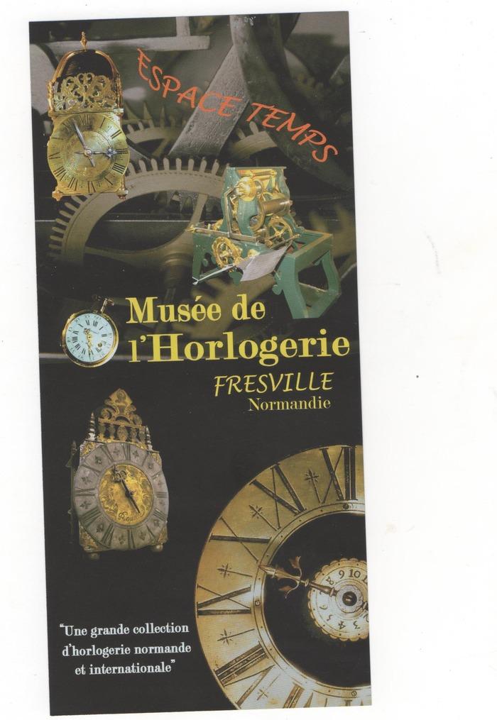 Journées du patrimoine 2018 - Visite guidée de l'horlogerie normande