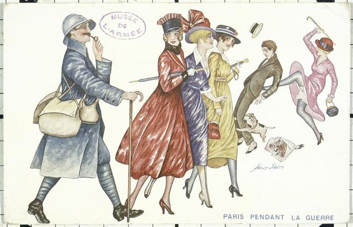 Journées du patrimoine 2018 - Visite guidée : les femmes et la guerre (1914-1918)