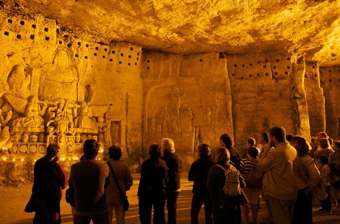 Journées du patrimoine 2018 - Visite guidée nocturne des grottes de l'abbaye