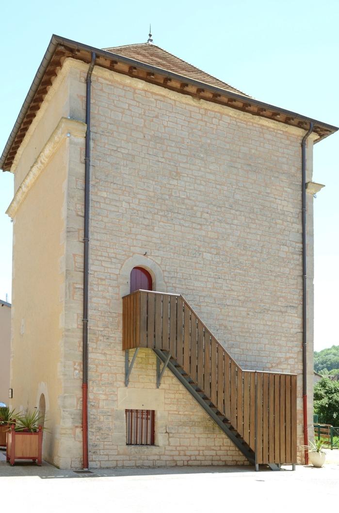 Journées du patrimoine 2018 - Ancienne tour d'angle du château de Poissons du XVIIe siècle