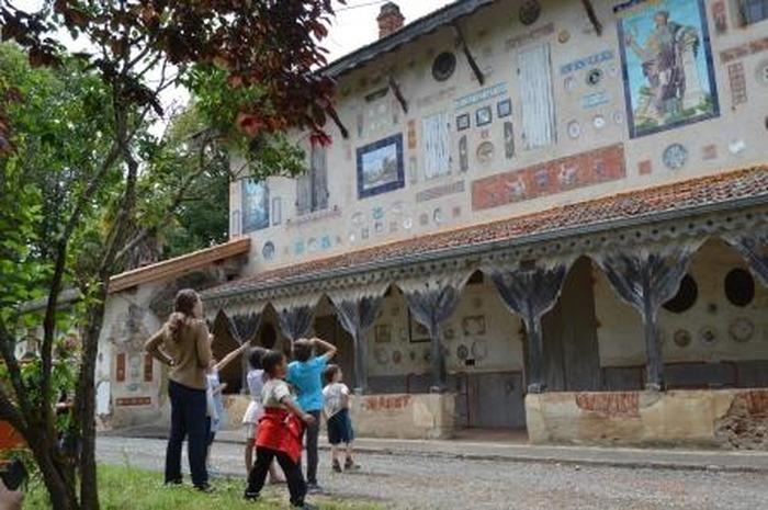 Journées du patrimoine 2018 - Visite guidée du château aux assiettes