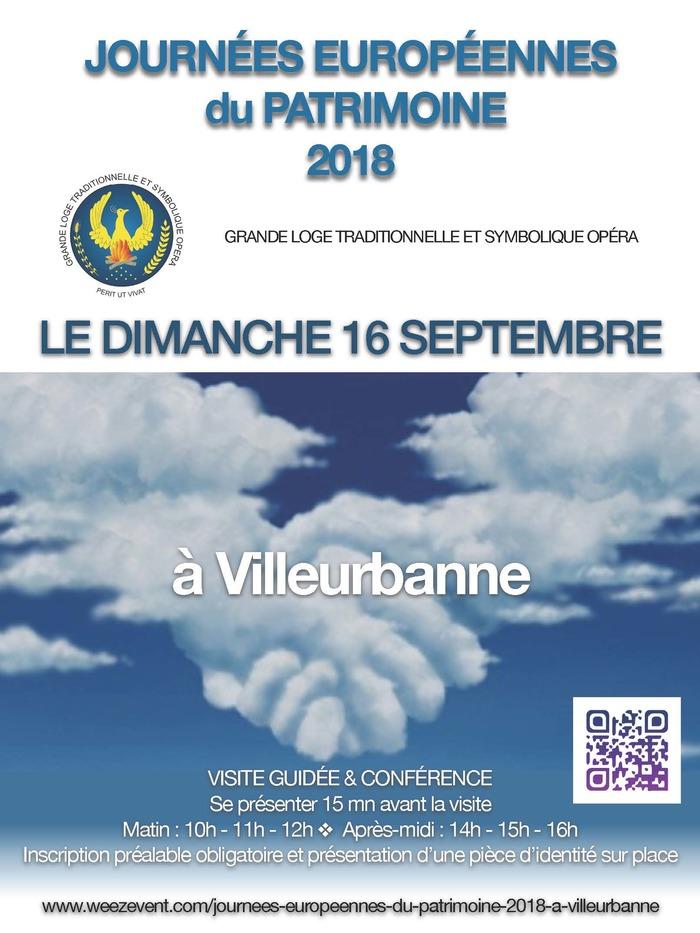 Journées du patrimoine 2018 - Visite guidée suivie d'une conférence de 50 mn.