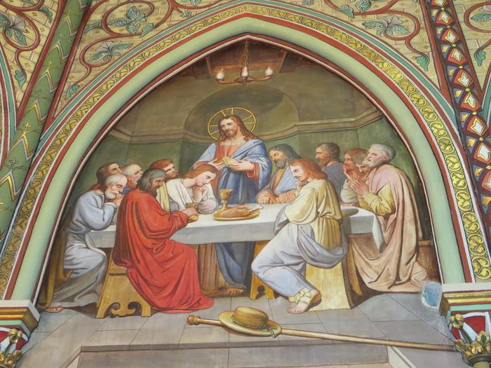 Journées du patrimoine 2018 - Visite guidée sur la symbolique religieuse des tableaux de Longa.