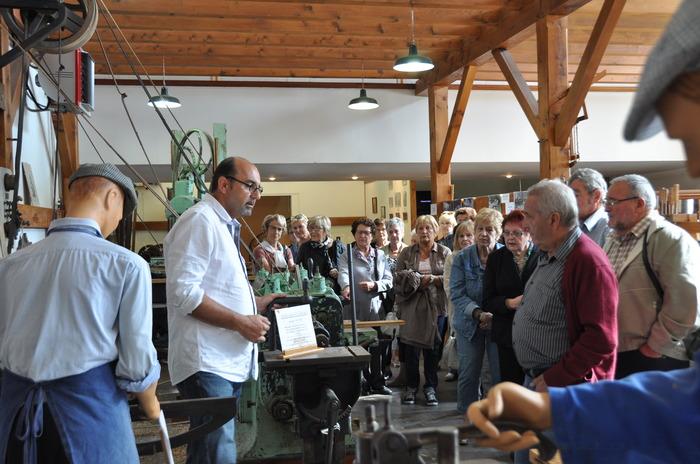 Journées du patrimoine 2018 - Visite commentée du musée de la machine à bois.