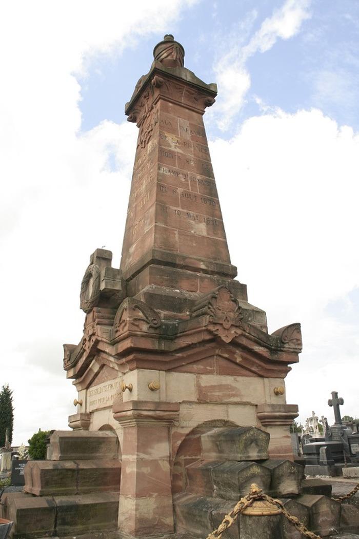 Journées du patrimoine 2018 - Visite guidée du cimetière civil et militaire de Forbach.
