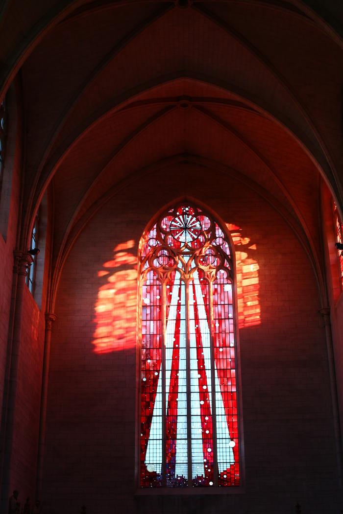 Journées du patrimoine 2018 - Visite guidée des 14 nouveaux vitraux de l'église Saint-Martin de Romilly-sur-Seine