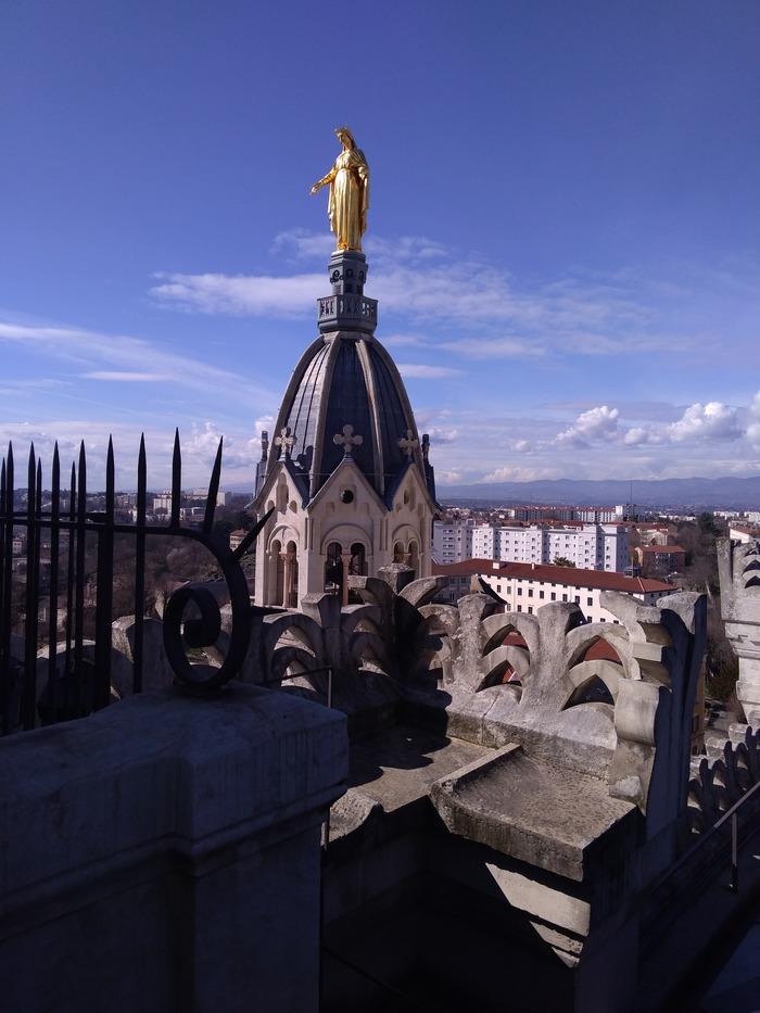 Journées du patrimoine 2018 - Visite insolite courte de la basilique Notre-Dame de Fourvière.