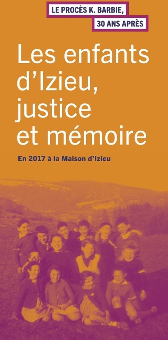 Crédits image : @ Maison d'Izieu
