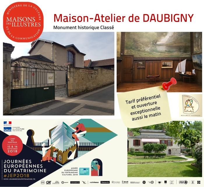 Journées du patrimoine 2018 - Découvrez la Maison-Atelier de Charles François Daubigny, premier foyer artistique d'Auvers-sur-Oise