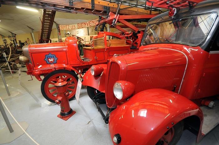 Crédits image : SDIS 95 - Musée départemental des sapeurs-pompiers du Val d'Oise