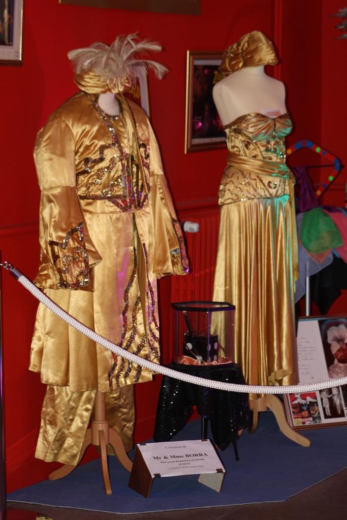 Journées du patrimoine 2018 - Hommage à Sabine Rancy : visite d'une collection de costumes des plus grands artistes de cirque (collection du Dr Alain Frère)