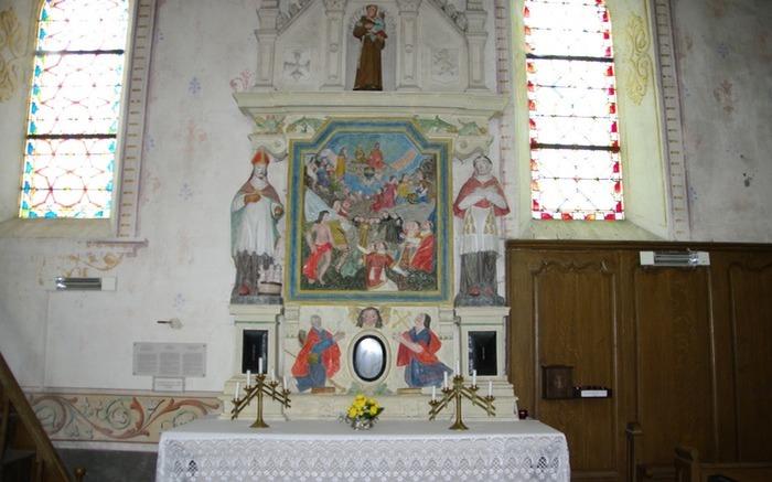 Journées du patrimoine 2019 - Visite libre d'une église construite au XVIe siècle dans le Sud meusien