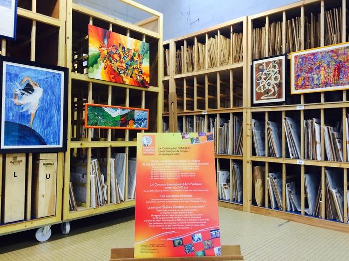 Journées du patrimoine 2018 - Visite libre de l'Artothèque