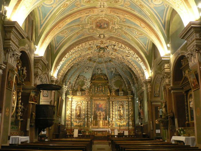 Journées du patrimoine 2018 - Visite libre de l'église baroque Notre-Dame de l'Assomption.