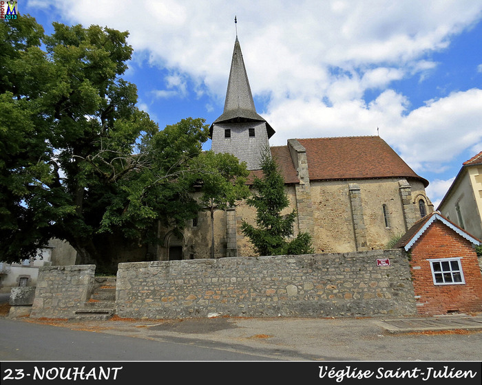 Journées du patrimoine 2020 - À la découverte de l'église de Nouhant